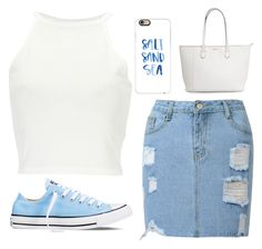 """""""Untitled #405"""" by kaytiea01 on Polyvore featuring Converse and Casetify"""