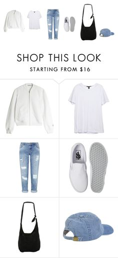 """""""Untitled #3454"""" by memoiree ❤ liked on Polyvore featuring T By Alexander Wang, Miss Selfridge, Vans and Disney"""