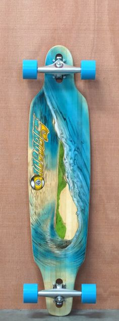 "Sector 9 41.25"" Lookout Bamboo Longboard Complete"