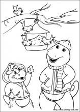 Luxury Barney Coloring Book 83 Barney and Friends coloring