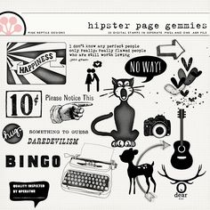 Hipster Page Gemmies