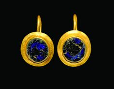 Roman Gold Disc Earrings, 1st century A.D.