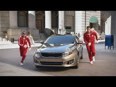 Kia et son ambassadeur, Blake Griffin, joueur de la NBA, lance une nouvelle campagne où Blake porte une cape et présente son acolyte, joué par l'acteur de la série 30 Rock, Jack McBrayer. Ce duo unique, accompagné de leur Kia Optima, forme « La Griffin Force » et apparaitra dans une série de 8 publicités TV pour faire la promotion de la Kia Optima. Dans ces spots, nous verrons la Griffin Force dans leur mission pour améliorer le monde, en empêchant les gens d'acheter de mauvaises voitures.