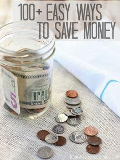 100+ Easy Ways to Save Money