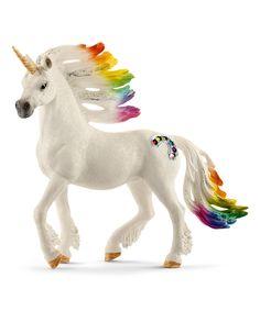 Look what I found on #zulily! Schleich Rainbow Stallion Unicorn Figurine by Schleich #zulilyfinds