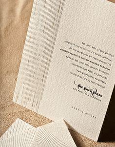 elum offers affordable letterpressed invitation packages! =)