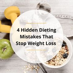 When you feel frustrated because your body is not losing weight like you expect it to, it is tempting to force your body to change by dieting harder and exercising more. However, if you push too hard, your body will push back, unleashing hard to control cravings that pull you back to your old habits. In this post, I'll share 4 hidden dieting mistakes that may be stopping your weight loss. Weight Loss Goals, Healthy Weight Loss, Want To Lose Weight, Losing Weight, Control Cravings, Feeling Frustrated, Superfoods, Mistakes, How Are You Feeling