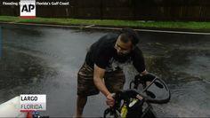 Hermine hits Florida coast as 1st hurricane in a decade
