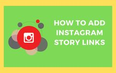 How to add Instagram Story Links (BEST ARTICLE) Instagram Money, Instagram Plan, Instagram Accounts, Instagram Feed, Image Sites, Camera Icon, Business Profile, Call To Action, Blog Entry