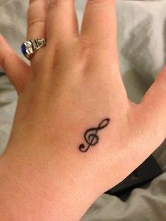 not my favorite place, but I love the idea of a treble clef