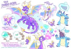 Spyro And Cynder, Things That Bounce, Things To Come, Spyro The Dragon, Bubble Wands, Dragon Games, Threes Game, Cutest Thing Ever, Fantastic Art