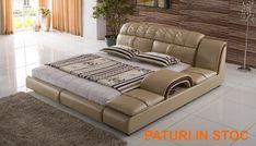 Pat dormitor si paturi dormitoare Sofa, Couch, Design Case, Bristol, Modern, Furniture, Home Decor, Houses, Acapulco