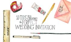 10 Tips for Creating the Perfect Wedding Invitation from Lana's Shop - milehighbride.com