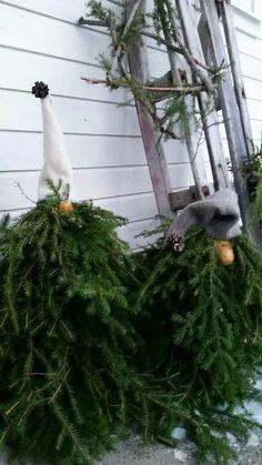 Skogsnisse... diy Santa,  Christmas decoration