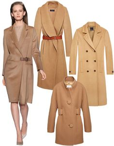 Style Tip: Place your bets on a tailored topper in a delicious caramel shade. On the runway at Max Mara; Piazza Sempione belted coat; Tommy Hilfiger coat; Moncler Premiere coat.   - HarpersBAZAAR.com