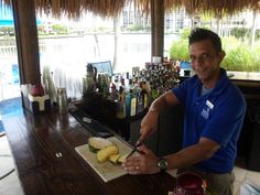 Rain or shine, our bartenders are making the best drinks along the Intracoastal Waterway... at the Lava Tiki Bar & Grille and Elements Bistro.   Hey Orlando, can you make me a _________________!