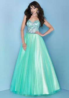 Sweetheart A Line Beaded Bodice Floor Length Tulle Marvelous Aqua Prom Dresses Aqua Prom Dress, Prom Dresses 2015, Unique Prom Dresses, A Line Prom Dresses, Beautiful Prom Dresses, Evening Dresses, Cheap Quinceanera Dresses, Sweet 15 Dresses, Casual Formal Dresses