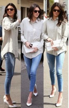 How to Chic: 10 KENDALL JENNER'S OUTFITS INSPIRATIONS - STREET STYLE - PART I