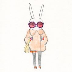 Fifi Lapin...lol @ the bunny!...but seriously everyone should check out http://fifi-lapin.blogspot.com