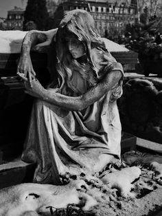 Tomb on a Graveyard Art