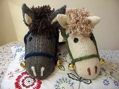 Stick Horses made out of socks_1   Agnieszka Nowak   Flickr