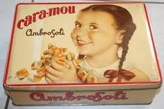 scatole latta vintage - Ambrosoli