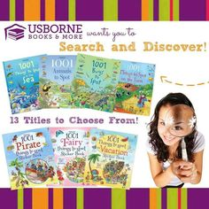 """So much more educational than """"I Spy"""" ;-) #Usborne #ISpy #SearchandDiscover"""