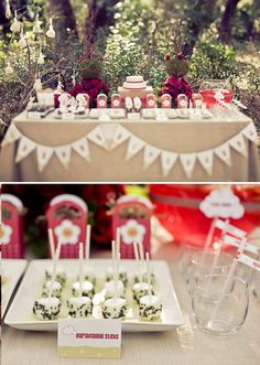 Little Red Riding Hood Inspired Dessert Table
