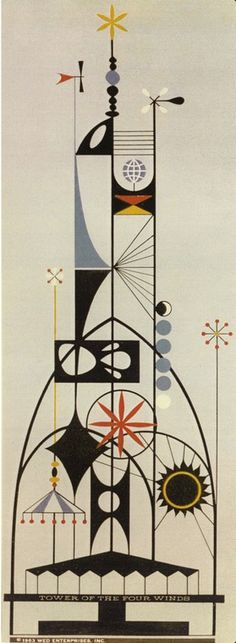 1963 Disney Tower of the Four Winds, Rolly Crump