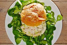 #panino con #insalata di #pollo #espressa #spassofood #cucinadapasseggio