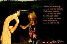 Rohid Ali Khan and Edina Varga at the love path