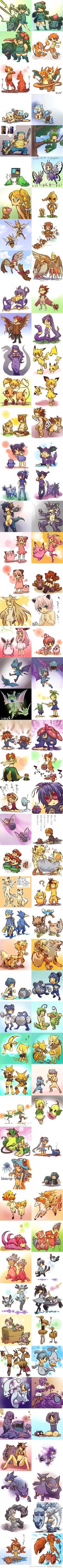 If Pokemon were humans... :D
