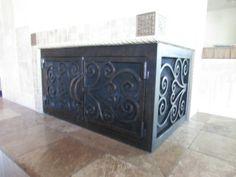 Beautiful custom made Fireplace Doors by the Fireplace Door Guy ...