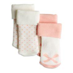 2,45e 13/15 2-pakkaus sukkia, Vaaleanpunainen, Baby 44-86 cm, Lapset | Lindex
