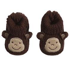 Crocheted Booties | Baby Essentials Caps, Booties & Mittens