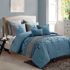 You'll love the Ruppe 7 Piece Comforter Set at Wayfair - Great Deals on all Bed & Bath  products with Free Shipping on most stuff, even the big stuff.