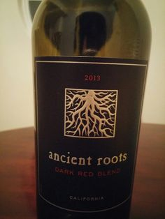 2013 Ancient Roots Dark Red Blend 13.5%