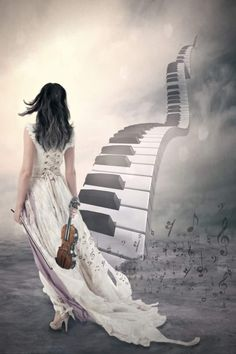 ♫Musical Fantasy♫ An Urban Art District favorite! Sound Of Music, Music Love, Music Is Life, My Music, Das Piano, All About Music, Chant, Music Quotes, Music Stuff