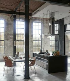 apartment design im industriellen stil loft, 60 best lofts images on pinterest, Design ideen