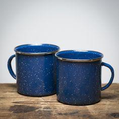 Enamelware Mug - 2pack