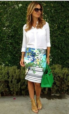 Chic and fresh  @fashionistaac