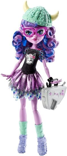 Monster High Brand-Boo Students Kjersti Trollsøn Doll