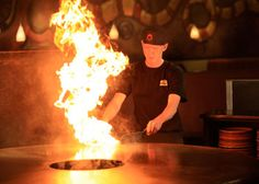 HuHot Mongolian Grill (@HuHotMadison). Watch your meal prepared in front of you by world famous Grill Warriors! Build your own stir fry with unlimited trips to the grill. See 2-for-1 entree & 50% off lunch entree coupons on pg 467 of your Bucky Book. www.buckybook.com