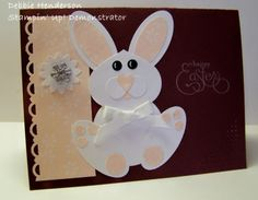 Stampin' Up!  Ornament Punch  Debbie Henderson  Easter Bunny by noemi