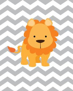 Baby Boy Nursery Art Chevron Lion Nursery Print 8x10, Safari Nursery Decor Playroom Rules Quote Art, Kids Wall Art Baby Boys Room on Etsy, $14.99