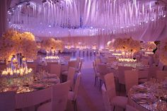 Creative Team: Planning and Design Linda Howard Events | Flowers LA Premier Flowers | Venue Beverly Hills Hotel | Party Rentals Classic Party Rentals | Design , Furniture, Ceiling Crystals and Drapery Matias Doorn for Revelry Event Designers #revelryeventdesigners
