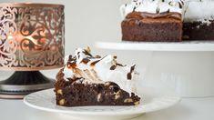 Torta Brownie de Nutella con Merengue Suizo || Tan Dulce
