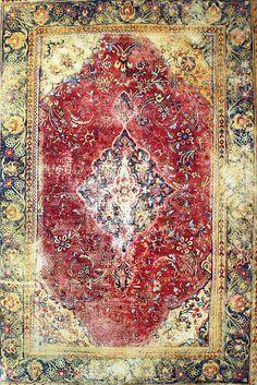 Kour Pour, Magic Carpet, 2009-10, Acrylic on canvas over panel, 72 x 48