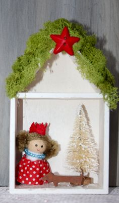 Dachshund and Gnomes Christmas Village Winter Wonderland Home Decoration by MaxMinnieandMe on Etsy