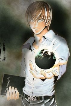 Death Note, Light Yagami, The power is within my grasp. I Love Anime, All Anime, Me Me Me Anime, Anime Manga, Anime Art, Anime Boys, Death Note Anime, Death Note Kira, Full Metal Alchemist